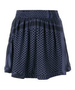 Cecilie Copenhagen   Keffiyeh Printed Cotton Skirt