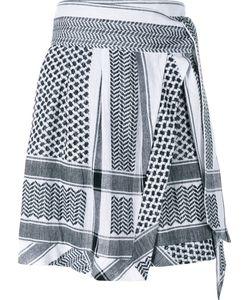 Cecilie Copenhagen   Abalone Cotton Mini Skirt