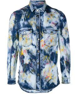 James Long | Paint-Spill Cotton Shirt