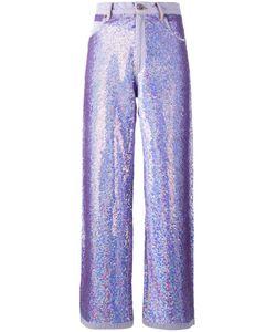 Ashish | Wide Leg Sequin Jeans