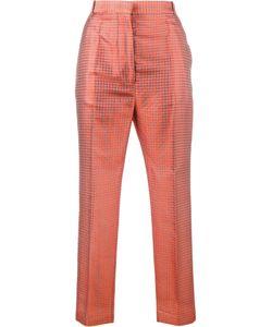 Haider Ackermann   Cropped Jacquard Trousers