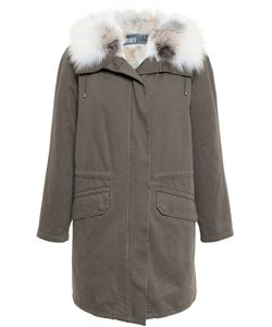 Army Yves Salomon | Fur Lined Hooded Parka