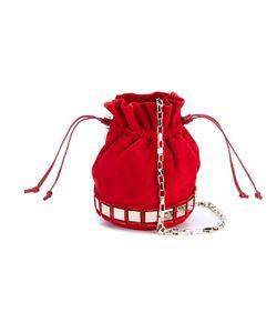 Tomasini   Lucile Mini Suede Bucket Bag
