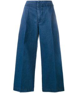 Marni | Cropped Wide-Leg Jeans