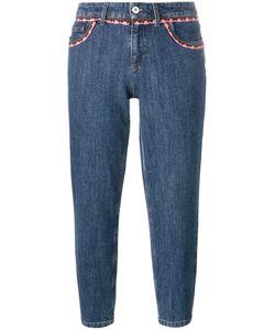 Miu Miu | Crochet-Trimmed Jeans
