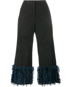Rosie Assoulin   Cropped Ruffle Trousers