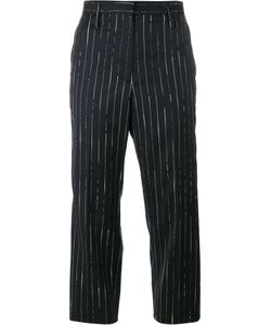 Golden Goose Deluxe Brand   Stripe Cropped Trousers