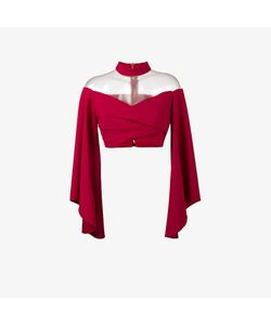Balmain | Off-Shoulder Top With Flared Sleeves