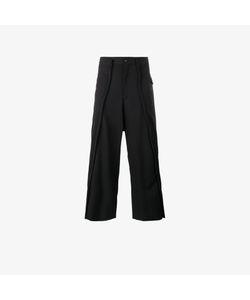 Comme Des Garçons Homme Plus   Cropped Wide-Leg Trousers