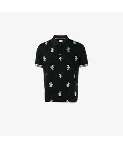 Moncler Gamme Bleu | Goose Embroidered Polo Shirt