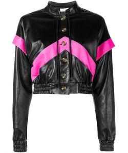 Ashley Williams | Leather Bomber Jacket