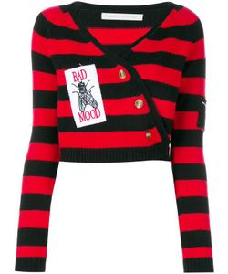 Ashley Williams | Bad Mood Wrap Striped Sweater