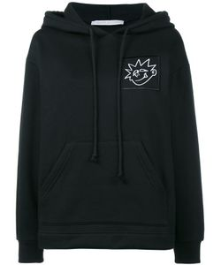 Ashley Williams | Bee Print Bad Mood Oversized Black Hoodie