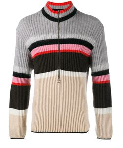 Helen Lawrence | Striped Half-Zip Jumper