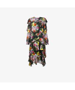 Preen by Thornton Bregazzi | Print Ruffle Dress