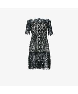 Huishan Zhang   Off-Shoulder Lace Dress