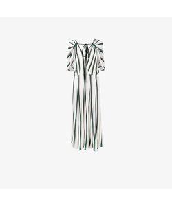 Adam Lippes | Striped Flounce Dress