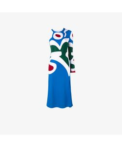 Esteban Cortazar | Asymmetric Intarsia Knit Dress
