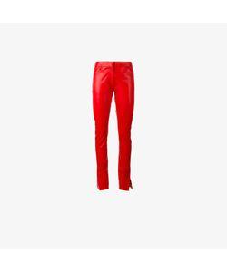 Loewe | Straight Leather Pants