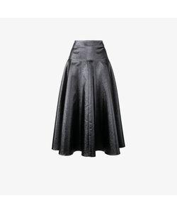 Osman | Flared Midi Skirt