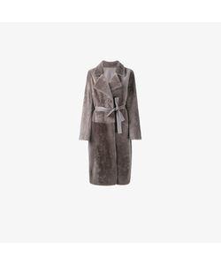 Yves Salomon | Belted Shearling Coat