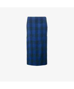 No21   Plaid Midi Skirt