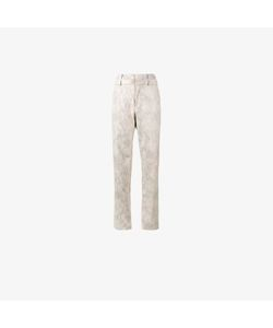 Y / Project | Snakeskin Print Trousers