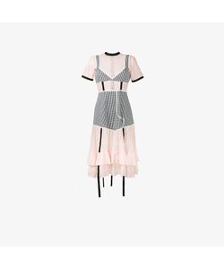 Sandy Liang | Accord Gingham And Lace Dress