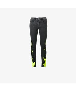 Filles A Papa | Flame Print Skinny Jeans