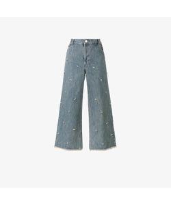 Sandy Liang | Swarovksi Crystal Embellished Jeans