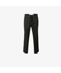 Comme Des Garçons Homme Plus   Check Panel Trousers