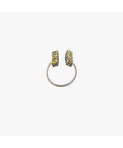 Ileana Makri | Sapphire Double Column Ring