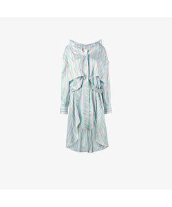 Esteban Cortazar | Stripe Asymmetric Shirt Dress