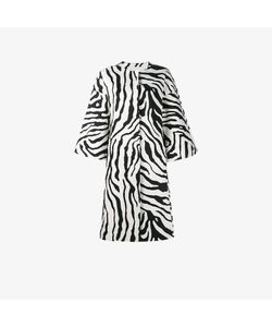 Adam Lippes | Zebra Print Cocoon Coat