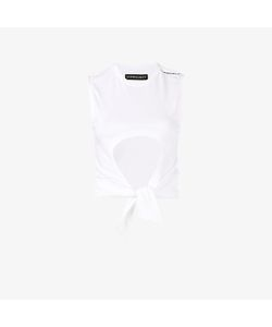 Y / Project | Cropped Cutout T-Shirt