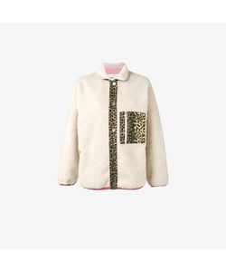 Sandy Liang | Checkers Leopard Print Jacket