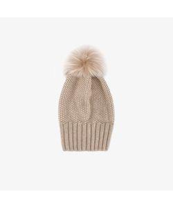 Inverni | Single Fur Pom Pom Beanie