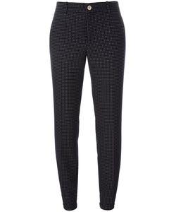 Gucci   Polka Dot Cropped Trousers