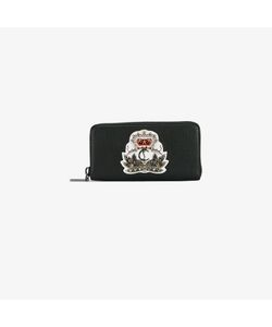 CHRISTIAN LOUBOUTIN | Crown-Embellished Wallet