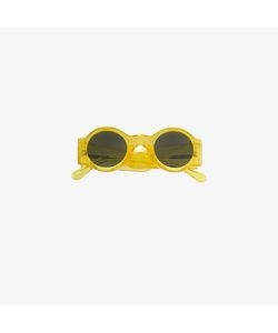 Linda Farrow | X Dries Van Noten Round Sunglasses