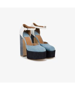 Laurence Dacade | Lila Denim Pumps