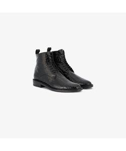 Robert Clergerie | Embossed Combat Boots