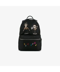 Dolce & Gabbana | Patch Embroidered Backpack