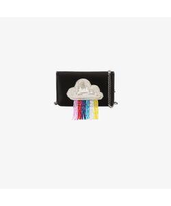 Les Petits Joueurs | Ginny Rainbow Beaded Clutch Bag