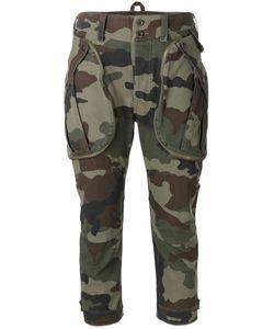 Faith Connexion   Camouflage Print Cropped Pants