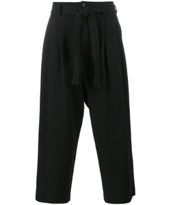 The Viridi-Anne | Cropped Rope Belt Trousers