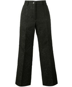Dries Van Noten   Brocade Cropped Trousers