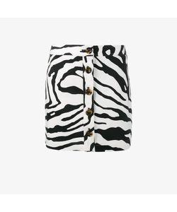 Adam Lippes | Zebra Print Mini Skirt