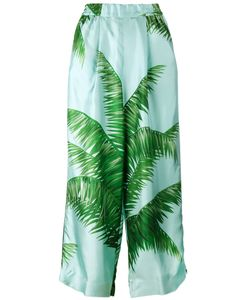 For Restless Sleepers | F.R.S Palm Leaf Print Pyjama Trousers