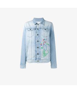 Mira Mikati | Hama Bead Embellished Denim Jacket